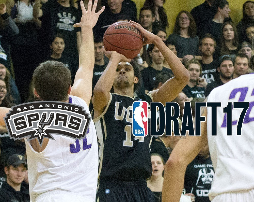 756d980c30c Spurs Select White in First Round of NBA Draft - UCCS Athletics